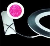Pásek na nehty Nail ART Růžový Glitter