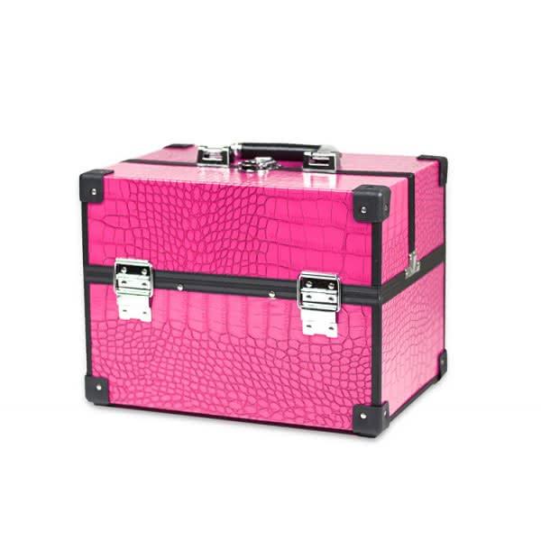 kosmetický kufřík střední vip 605 - růžový
