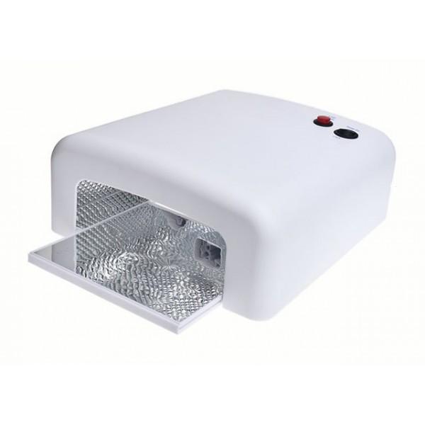 UV lampa na nehty 36W Bílá hranatá