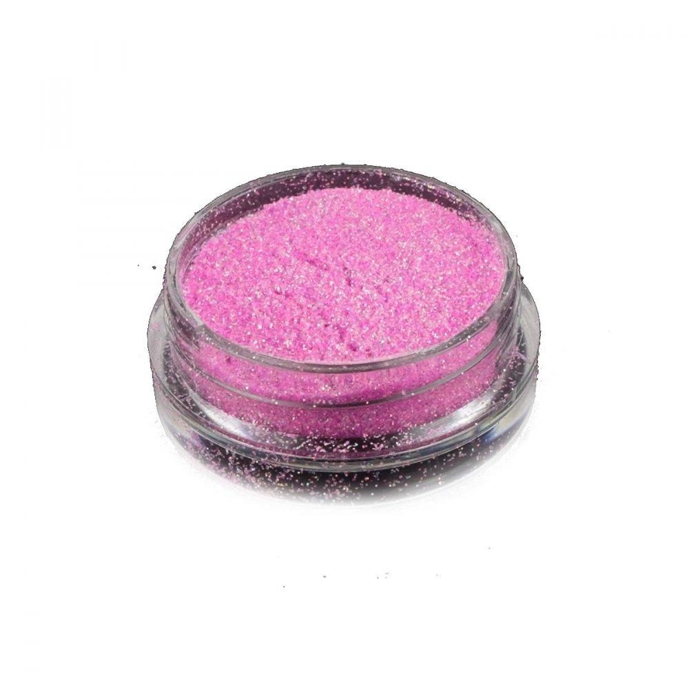 Hvězdný prach na zdobení nehtů - pink