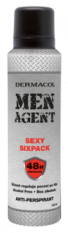 Dermacol MEN AGENT - Sexy Sixpack deospray