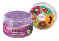 Dermacol Aroma Ritual Stress Relief tělový peeling Grape and Lime 200 g