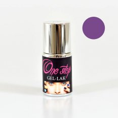 ONE STEP gel lak č.17 - fialová 10 ml