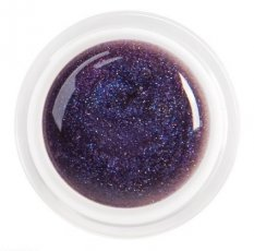 UV gel barevný Glitter G73 - Ice Lila 5 ml