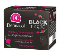 Dermacol Black magic mattifying face moisturizer 50ml