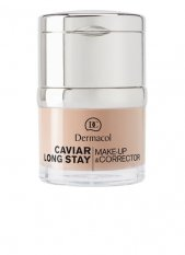 Dermacol CAVIAR LONG STAY MAKE-UP & CORRECTOR - odstín nude 30ml