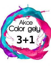 AKCE COCKTAIL COLOR gely 3+1 zdarma