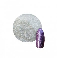 Diamond Glitter effect č.04  - Violet