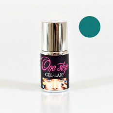 ONE STEP gel lak č.4 - petrolejová 10 ml