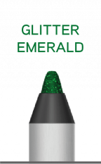 Wunder2 SUPER STAY LINER - Glitter emerald
