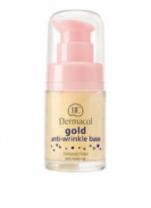 Dermacol Gold Anti-Wrinkle Base -  podkladová báze 15 ml