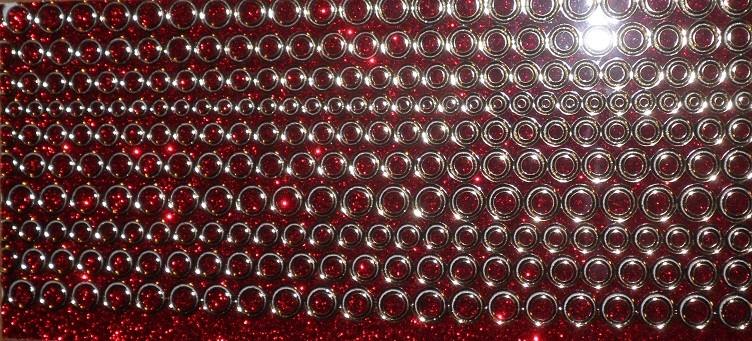 Bublinky CREATIV na nehty č. 11 Red