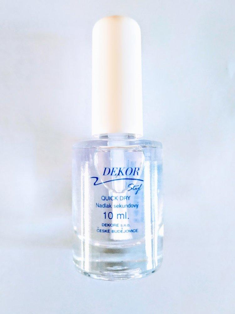 Dekor-Quick Dry- finish bez uv lampy