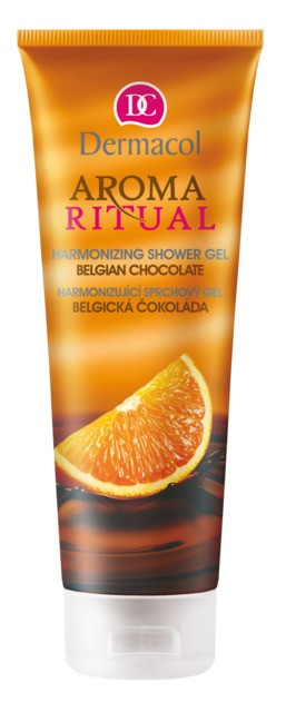 Dermacol Aroma Ritual Belgická čokoláda sprchový gel 250 ml